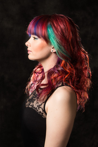 Hair: Jess Hardy Model: Maggie Vath