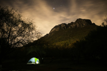 La Posada tent